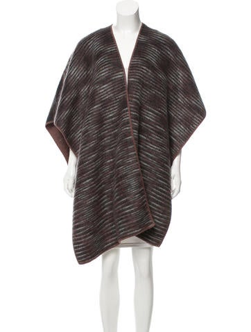 Missoni Patterned Oversize Poncho None