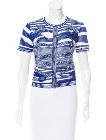 Missoni Patterned Button-Up Top None