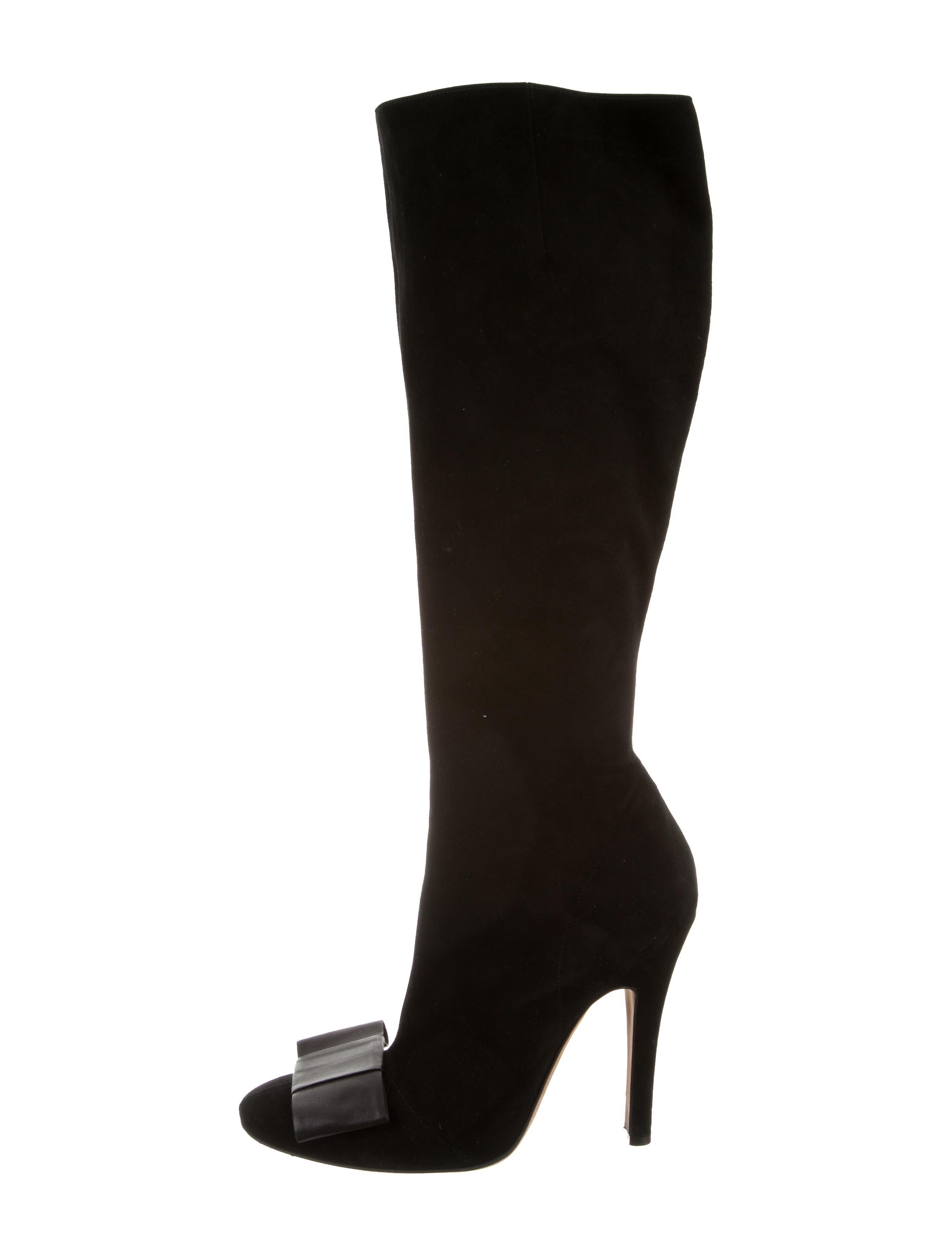 missoni bow knee high boots shoes mis43570 the realreal