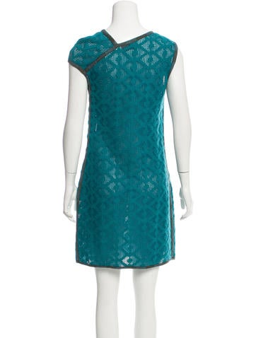Missoni Wool-Blend Open Knit Dress - Clothing - MIS43631 The RealReal