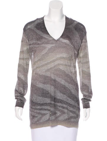 Missoni Patterned Knit Sweater None