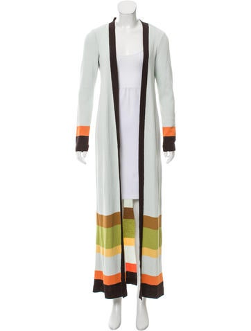 Missoni Striped Longline Cardigan None