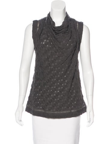 Missoni Wool Sleeveless Top None