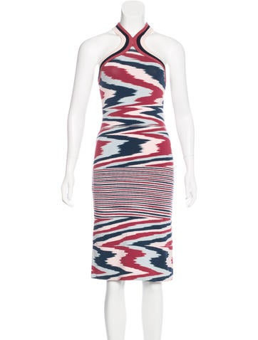 Missoni Patterned Midi Dress w/ Tags None