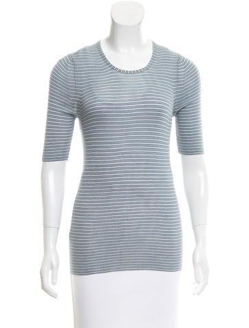 Missoni Striped Knit Top None