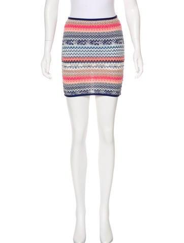 Missoni Textured Mini Skirt None