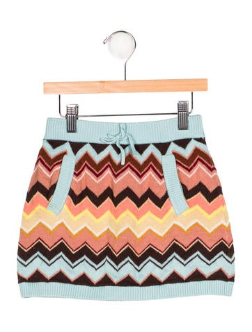 Missoni Girls' Knit Mini Skirt None