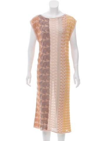 Missoni Silk-Blend Midi Dress None