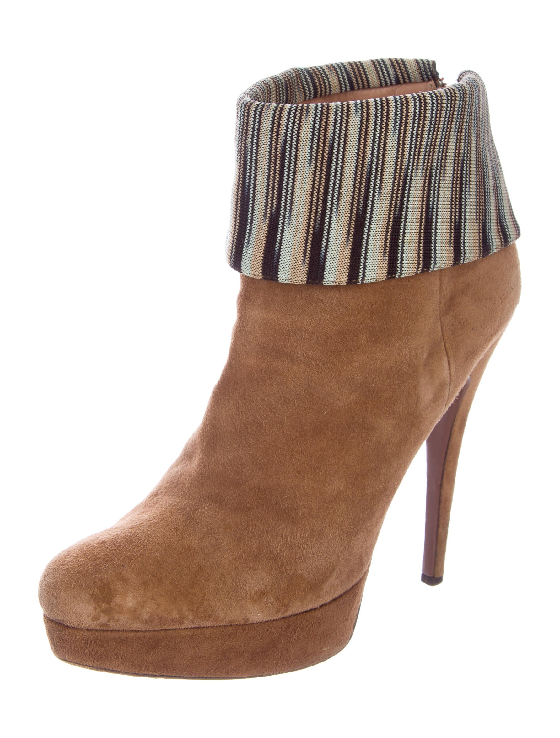 missoni suede platform boots shoes mis44135 the realreal