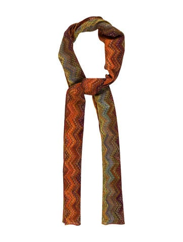 Missoni Wool Patterned Scarf None