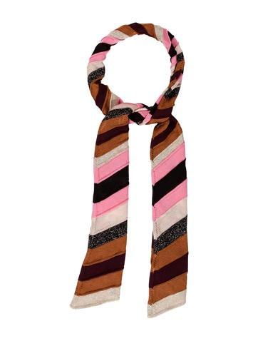 Missoni Knit Stripe Scarf w/ Tags None