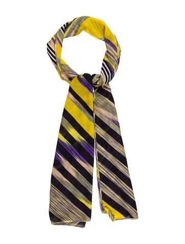 Missoni Stripe Knit Scarf None