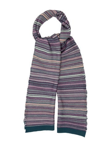 Missoni Striped Wool Scarf None