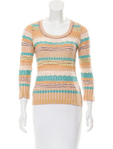 Missoni Textured Wool Top None