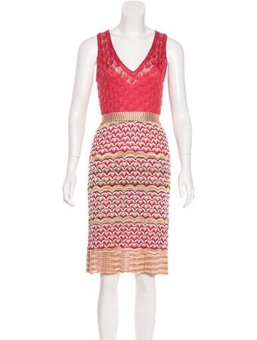 Missoni Sleeveless Knit Dress None