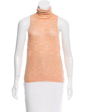 Missoni Cashmere & Silk-Blend Knit Top None