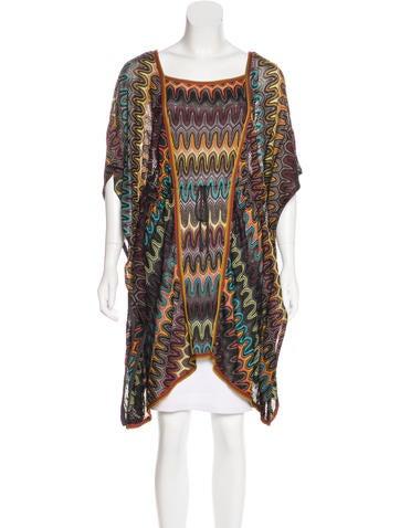 Missoni Asymmetrical Knit Tunic None