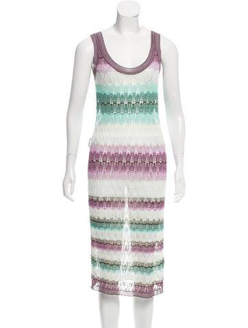 Missoni Open Knit Midi Dress None