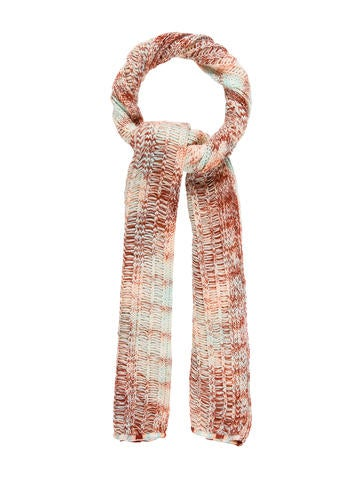 Missoni Wool Knit Scarf None
