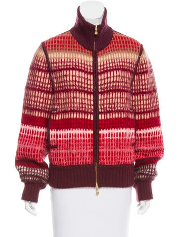 Missoni Patterned Knit Cardigan None