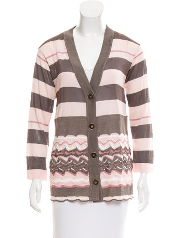 Missoni Striped V-Neck Cardigan None