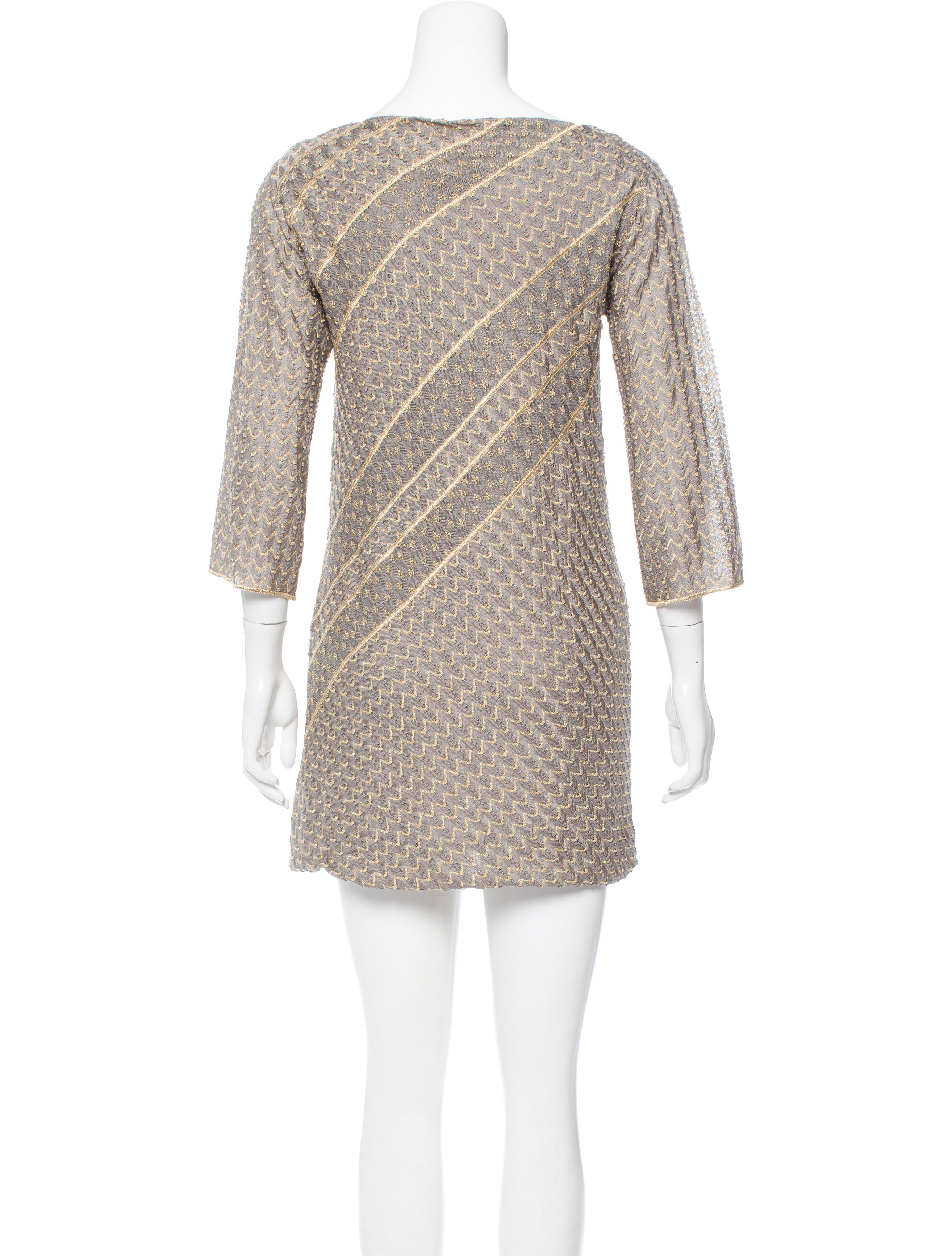 Charabia Long-Sleeve Knit Top Dress w/ Tulle Skirt, Size Details EXCLUSIVELY AT NEIMAN MARCUS Charabia dress with knit top and glittered polka-dot tulle skirt. Crew neckline with ruffle trim. Long sleeves.