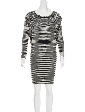 Missoni Cashmere Knit Mini Dress None