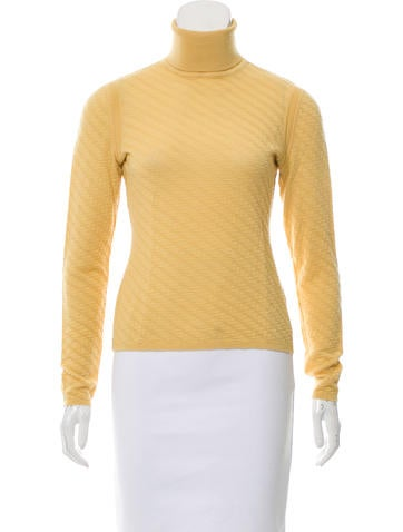 Missoni Wool Turtleneck Sweater None