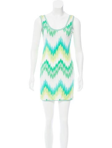 Missoni Printed Mini Dress None