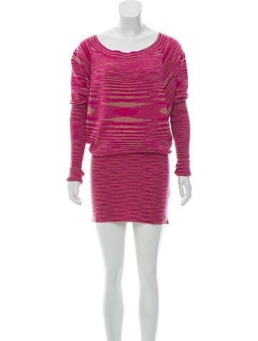 Missoni Striped Cashmere Dress None