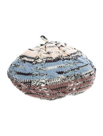 Missoni Open Knit Wool Beret None