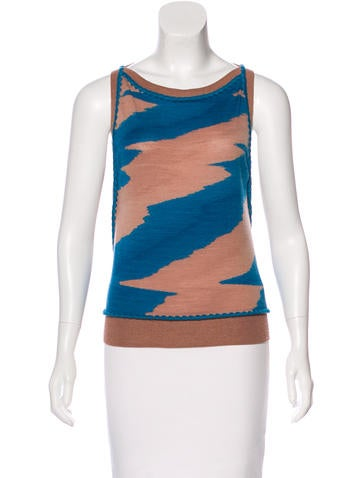 Missoni Wool Patterned Top None