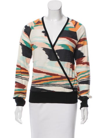 Missoni Patterned Wool Sweater None