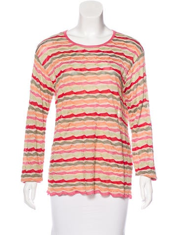 Missoni Striped Knit Top None