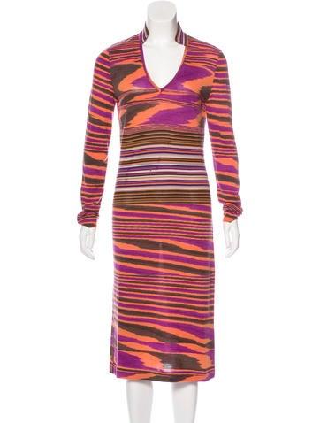 Missoni Wool Patterned Dress None