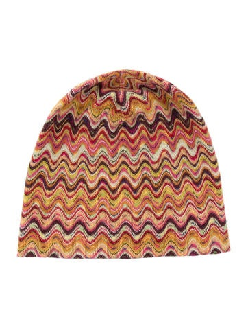 Missoni Knit Wool Hat None