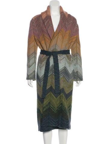 Missoni Wool & Alpaca Coat None