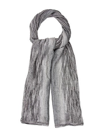 Missoni Patterned Knit Scarf None