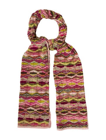 Missoni Patterned Wool Scarf None
