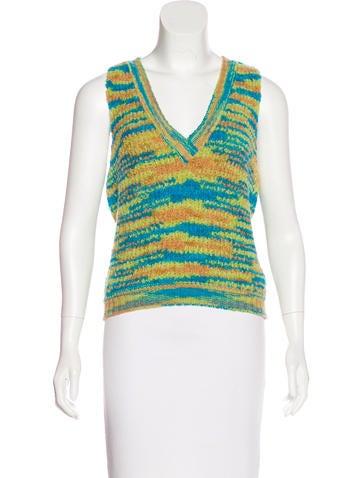 Missoni V-Neck Sweater Vest None