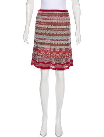Missoni Patterned Knee-Length Skirt None