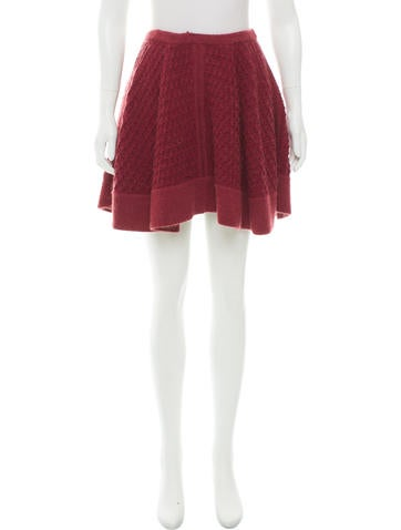 Missoni Fluted Knit Skirt None