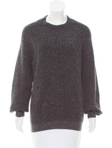 Missoni Rib Knit Cashmere Sweater None