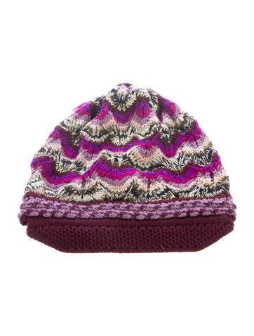 Missoni Knit Beanie None