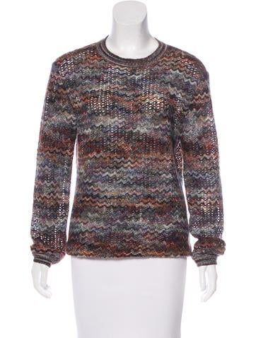 Missoni Wool & Mohair-Blend Sweater None