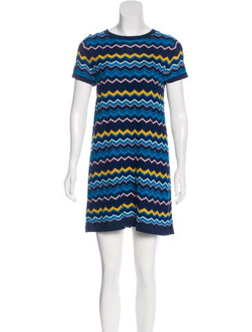 Missoni Knit Mini Dress None
