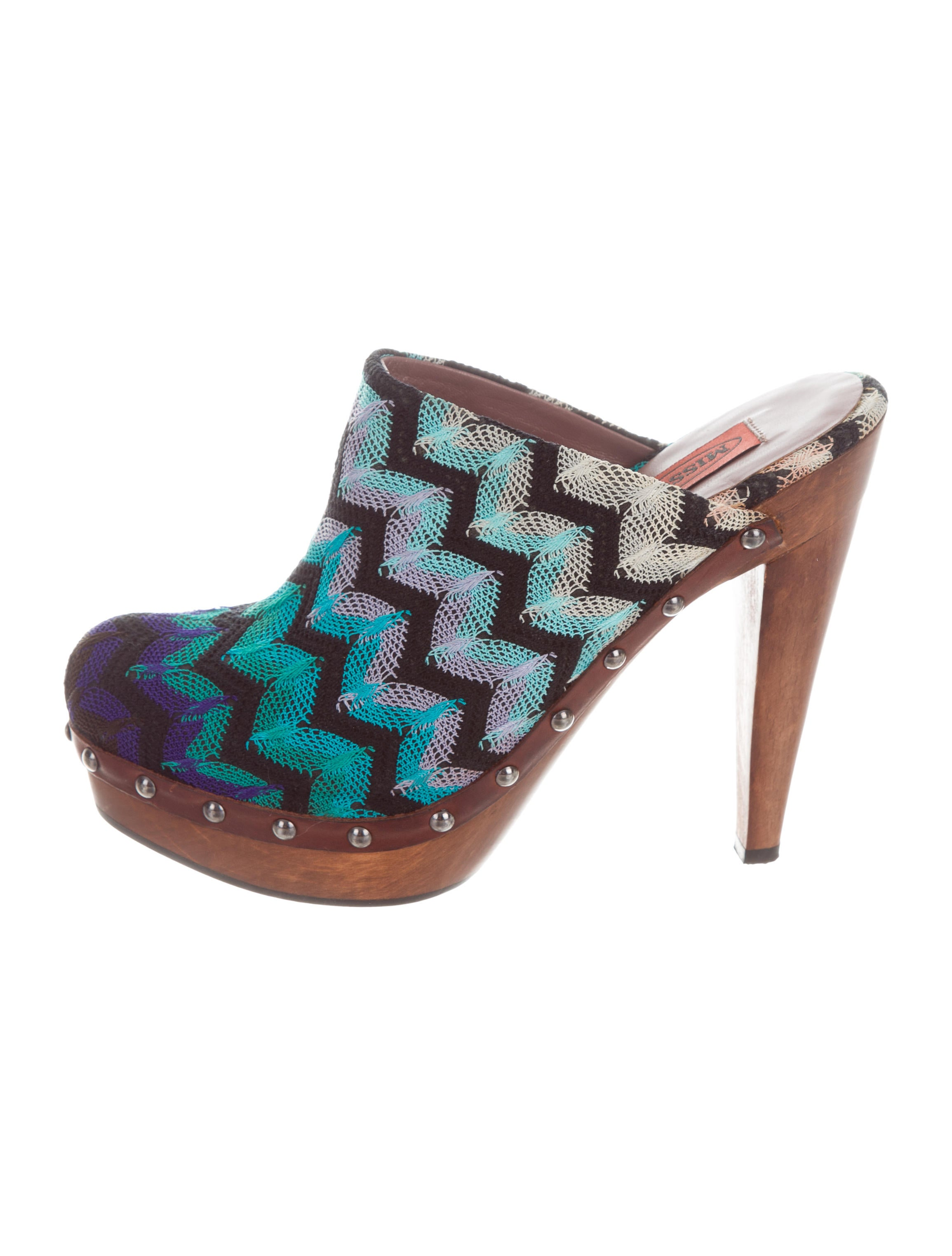 outlet new styles Missoni Chevron Patterned Clogs sale exclusive sale in China R32AHRG1