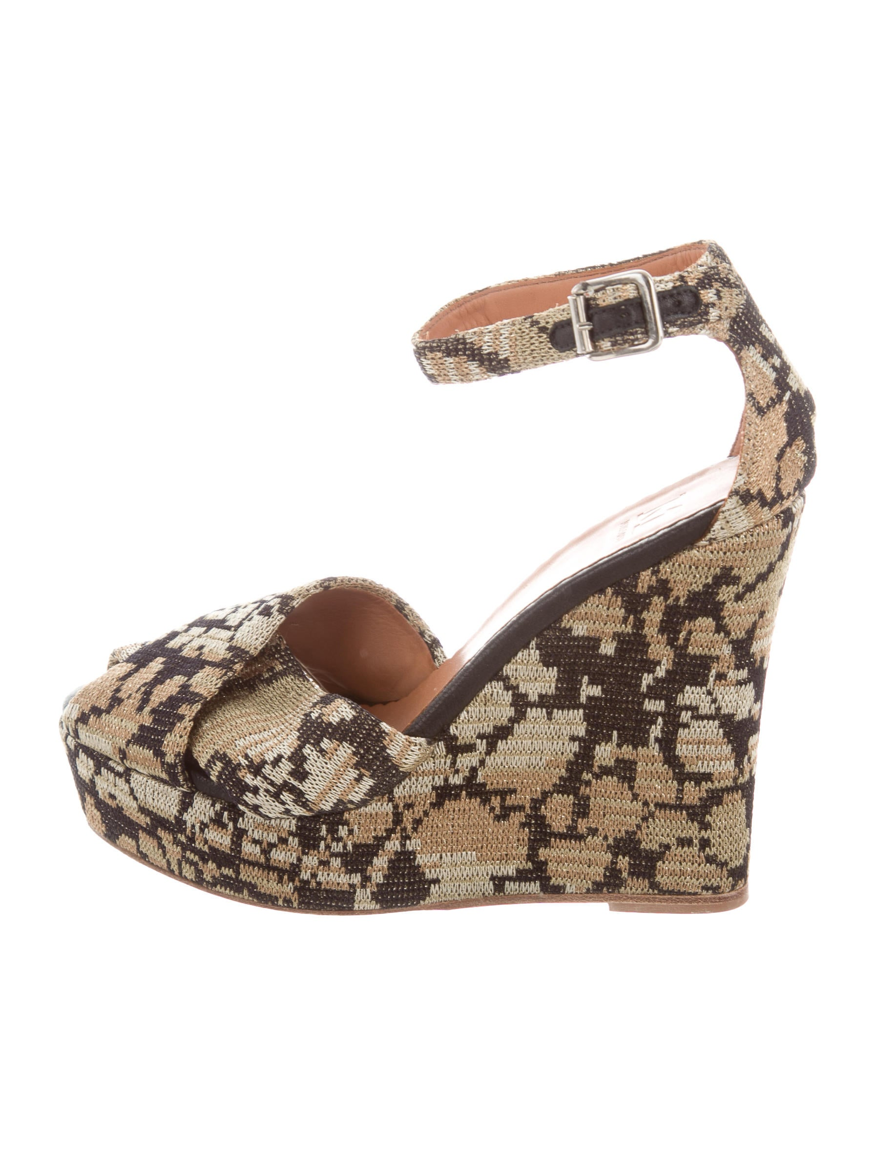 Missoni M Patterned Platform Wedges outlet from china pay with paypal clearance low cost outlet shopping online under 50 dollars YOc7Qt