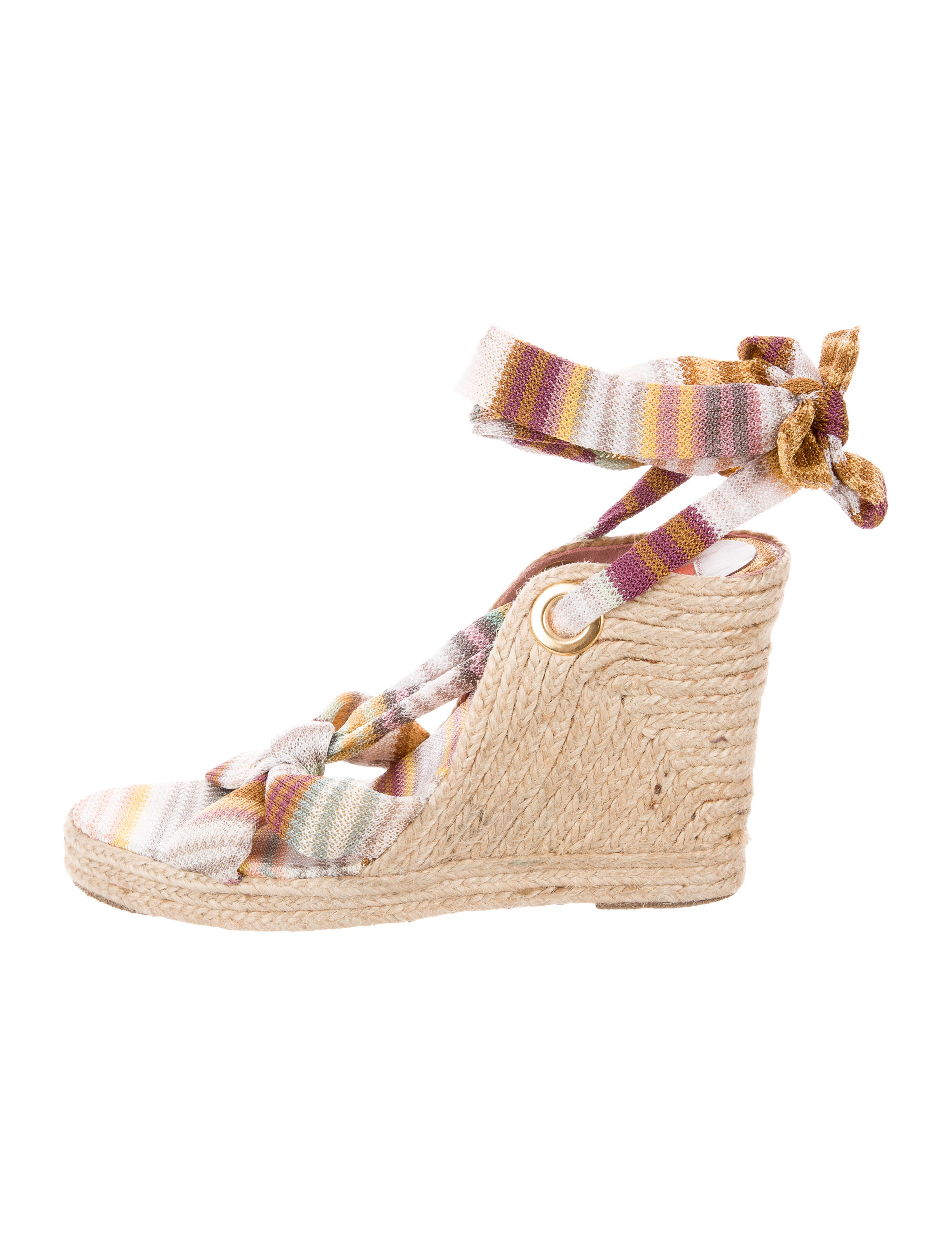 outlet finishline Missoni Platform Espadrille Wedges collections sale online 2014 new cheap price 2015 sale online fake sale online Dhddu7
