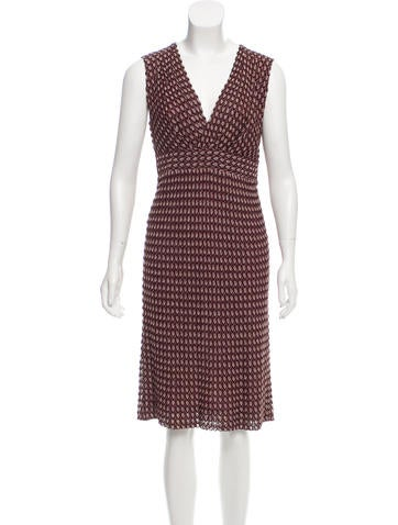 Missoni Lurex-Accented Midi Dress None